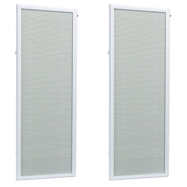 "ODL Add On Blinds for Raised Frame Patio Double Doors - 22"" x 66"""