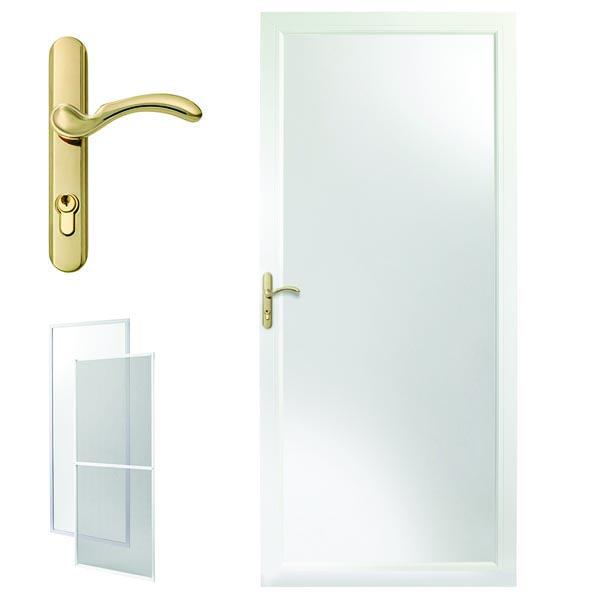 Andersen Storm Door 32 x 80 Fixed Safety Glass 10 Series Zabitat