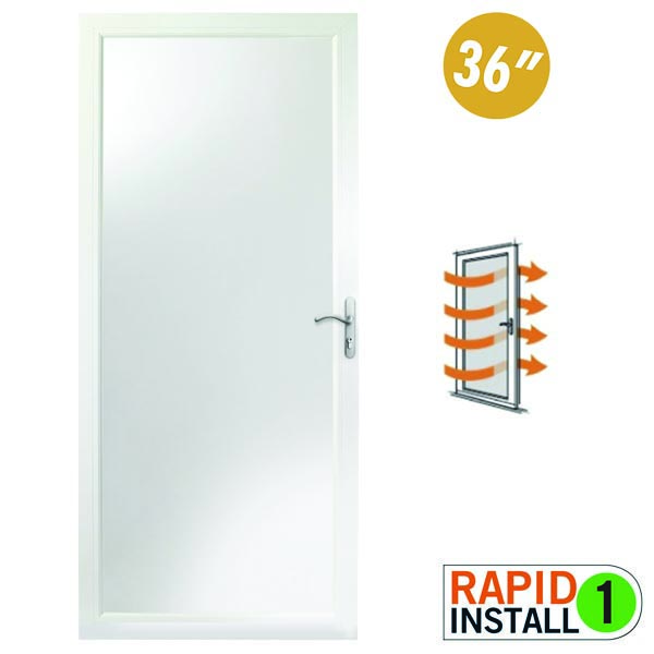 "Image for Andersen Storm Door 36"" x 80"" Interchangeable Glass - 8 Series from Zabitat"