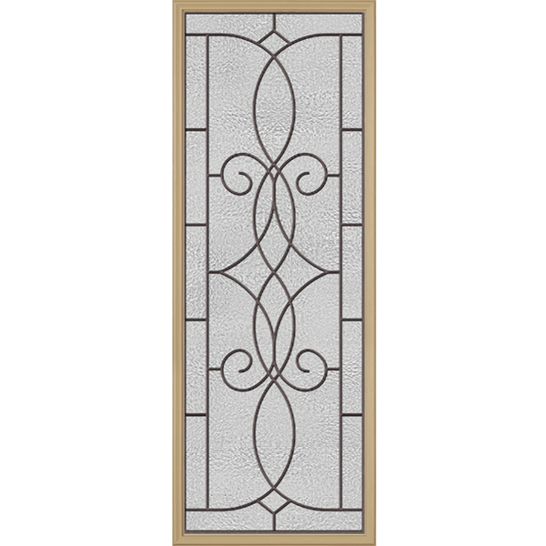 "Western Reflections Ashbury Door Glass - 24"" x 66"" Frame Kit"