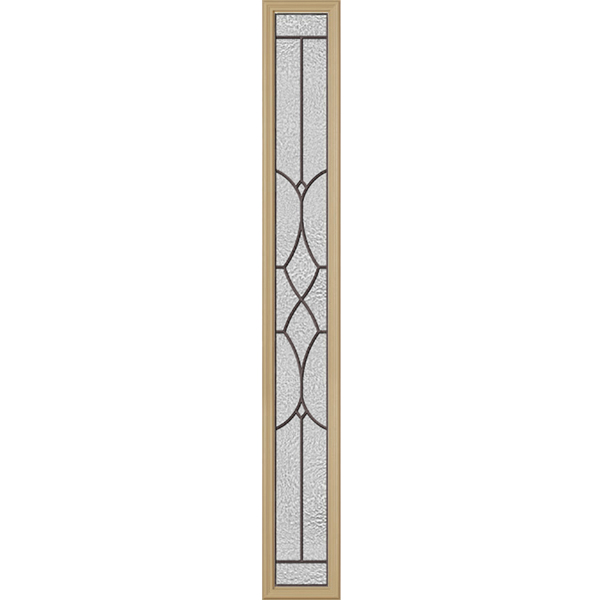 "Western Reflections Ashbury Door Glass - 10"" x 66"" Frame Kit"