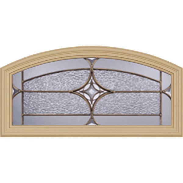 "Western Reflections Astrid Door Glass - 24"" x 12"" Frame Kit"