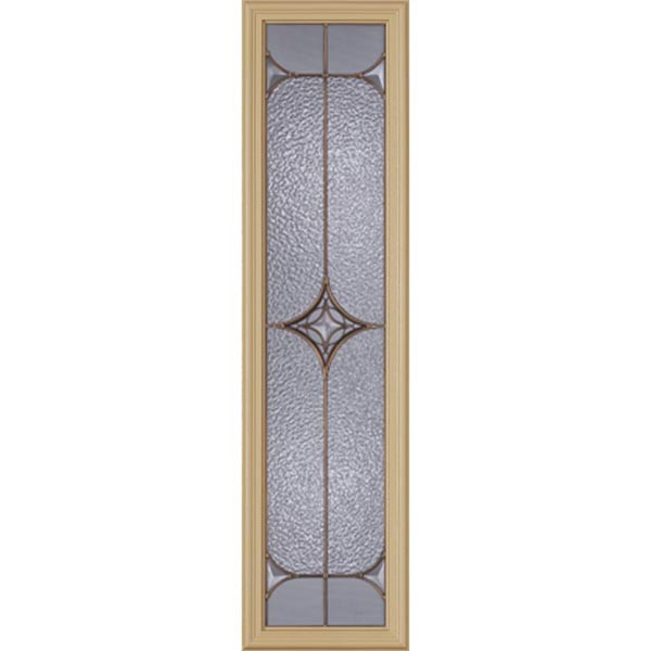 "Western Reflections Astrid Door Glass - 10"" x 38"" Frame Kit"