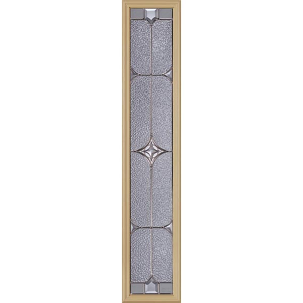 "Western Reflections Astrid Door Glass - 10"" x 50"" Frame Kit"