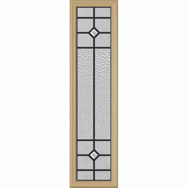 "Western Reflections Door Glass - Beaufort - 10"" x 38"" Frame Kit"