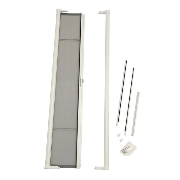Image for ODL Brisa Premium Retractable Screen for 78 in. Sliding Patio Doors -  White from Zabitat