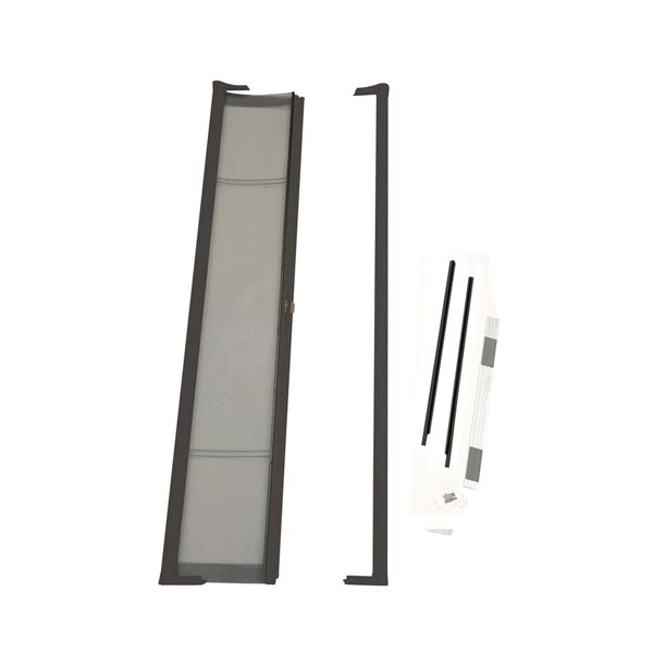 Image for ODL Brisa Premium Retractable Screen Kit for 78 in. Inswing/Outswing Hinged Doors -  Bronze from Zabitat