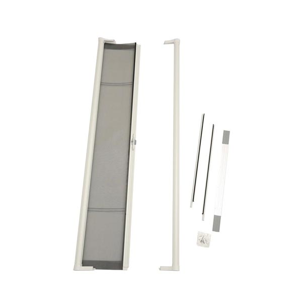 Image for ODL Brisa Premium Retractable Screen Kit for 80 in. Inswing Hinged Doors -  White from Zabitat