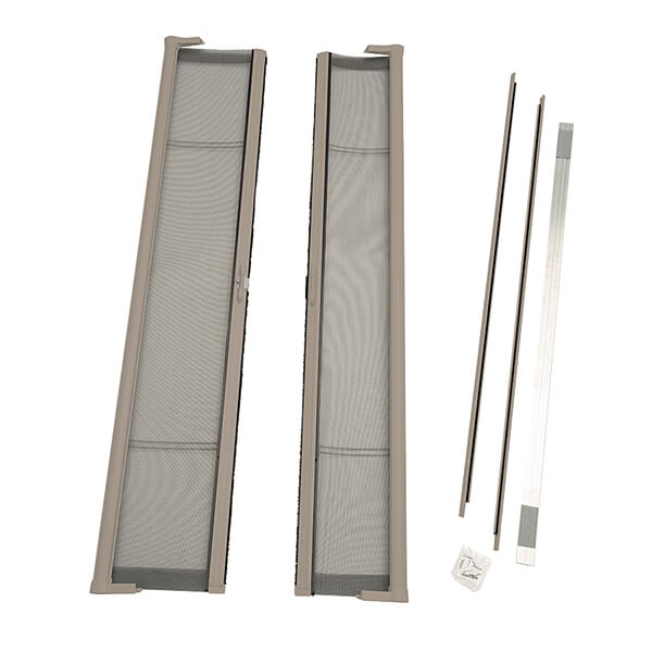 Image for ODL Brisa Premium Retractable Screen Kit for 80 in. Inswing Hinged Double Doors -  Sandstone from Zabitat