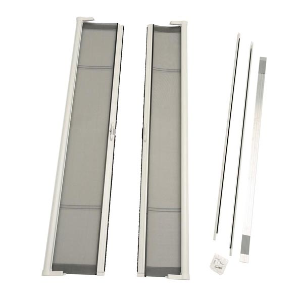 Image for ODL Brisa Premium Retractable Screen Kit for 78 in. Inswing/Outswing Double Doors -  White from Zabitat