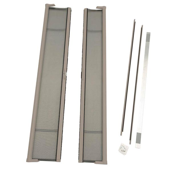 Image for ODL Brisa Premium Retractable Screen Kit for 96 in. Inswing/Outswing Double Doors -  Sandstone from Zabitat