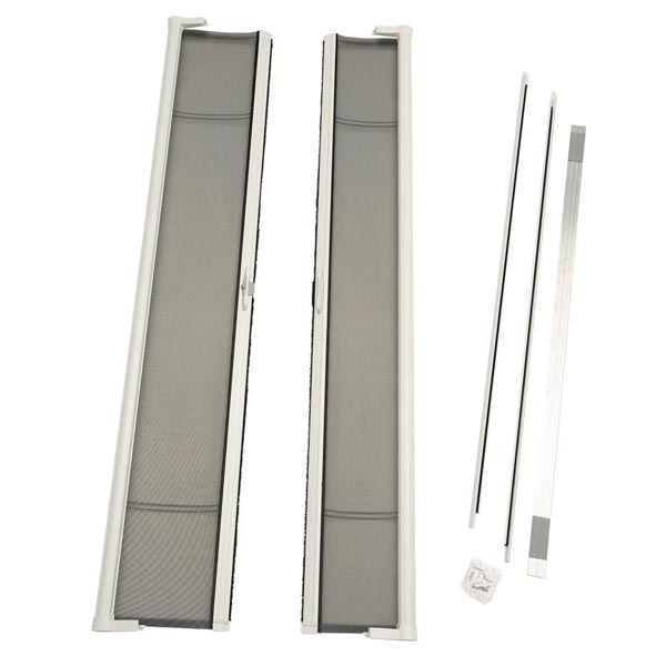 Image for ODL Brisa Premium Retractable Screen Kit for 96 in. Inswing/Outswing Double Doors -  White from Zabitat