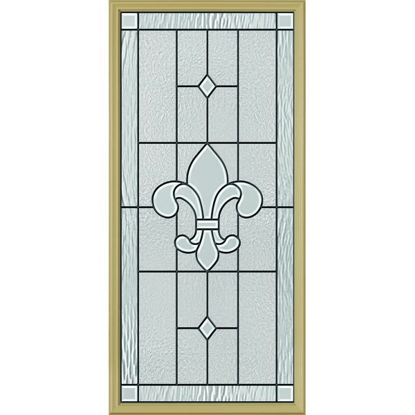 "ODL Carrollton Door Glass - 24"" x 50"" Frame Kit"