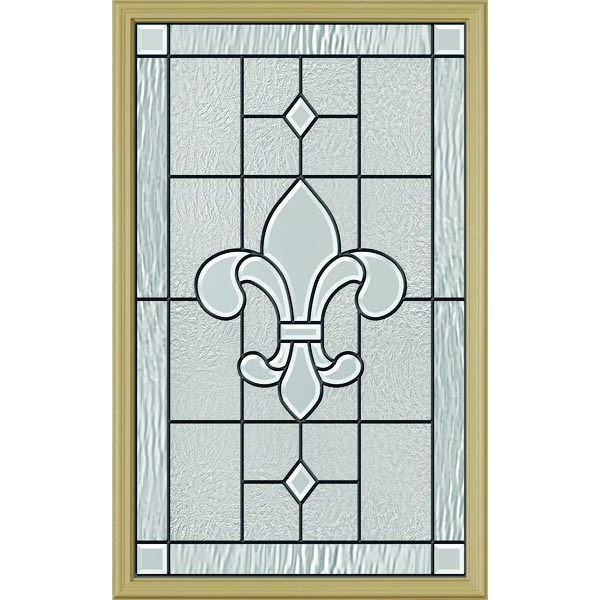 "ODL Carrollton Door Glass - 24"" x 38"" Frame Kit"