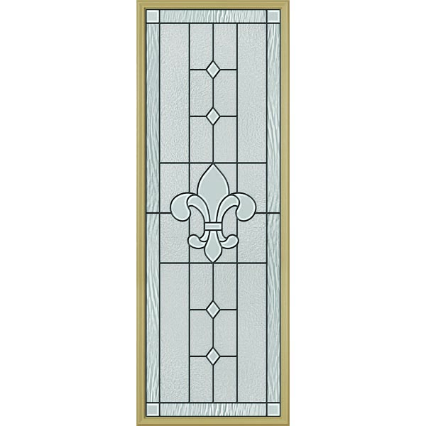 "ODL Carrollton Door Glass - 24"" x 66"" Frame Kit"
