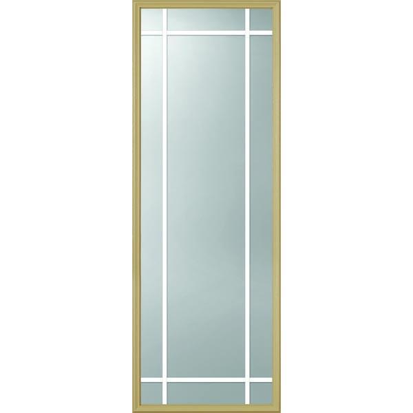 ODL Clear Door Glass - 9 Light - 5/8 Prairie Internal Grille - 24