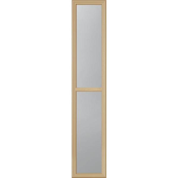 "ODL Clear Low-E Door Glass - 2 Light - 7/8 Simulated Divided Light - 10"" x 50"" Frame Kit"