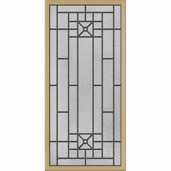 "ODL Destinations Door Glass - Courtyard - 24"""" x 50"""" Frame Kit"