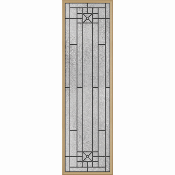 "ODL Destinations Door Glass - Courtyard - 24"""" x 82"""" Frame Kit"