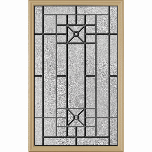 "ODL Destinations Door Glass - Courtyard - 24"""" x 38"""" Frame Kit"