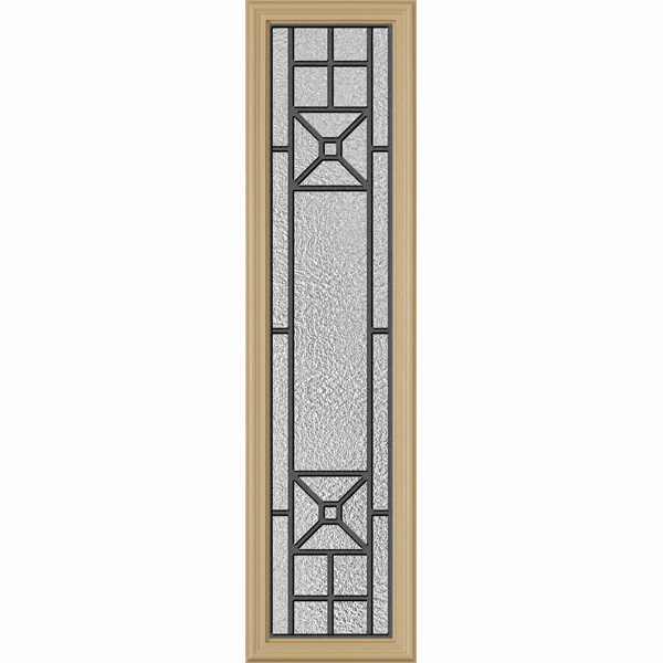 "ODL Destinations Door Glass - Courtyard - 10"""" x 38"""" Frame Kit"