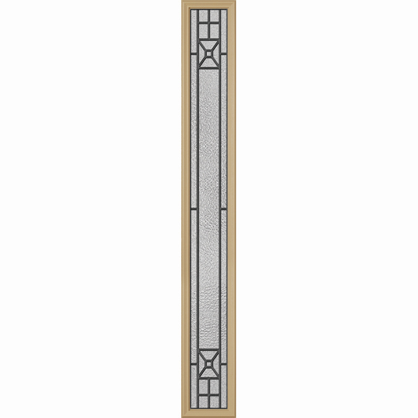 "ODL Destinations Door Glass - Courtyard - 9"""" x 66"""" Frame Kit"