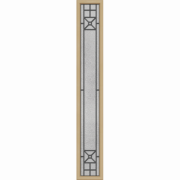 "ODL Destinations Door Glass - Courtyard - 10"""" x 66"""" Craftsman Frame Kit"