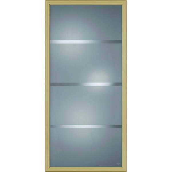 "Western Reflections Crosslines Door Glass - 24"" x 50"" Frame Kit"