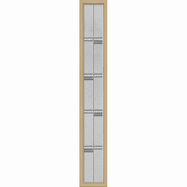 "ODL Destinations Door Glass - Crosswalk - 10"""" x 66"""" Craftsman Frame Kit"