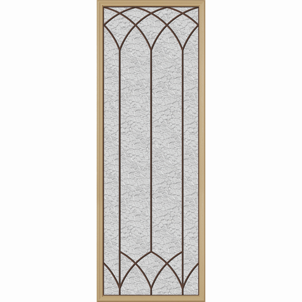 "Western Reflections Door Glass - Davidson - 24"" x 66"" Frame Kit"