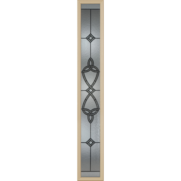 "Western Reflections Dylan Door Glass - 10"" x 66"" Frame Kit"