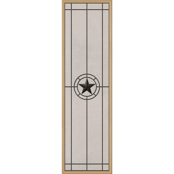 "ODL Elegant Star Door Glass - 24"" x 82"" Frame Kit"