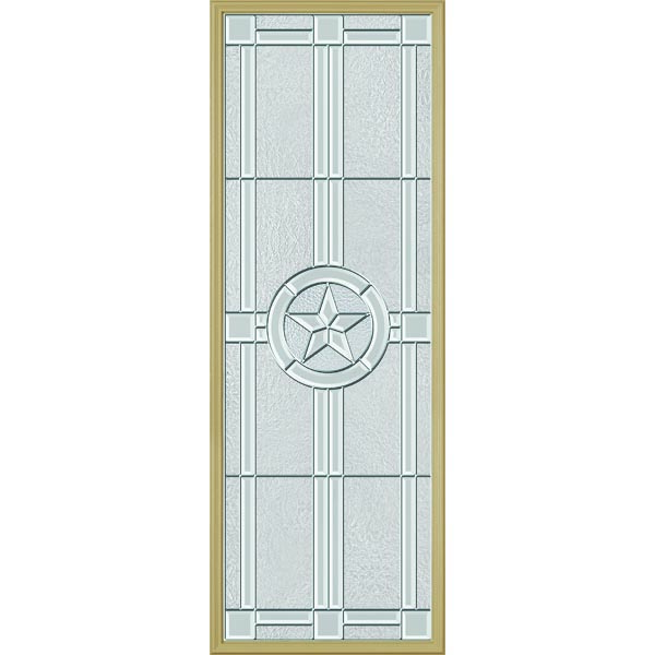 "ODL Elegant Star Door Glass - 24"" x 66"" Frame Kit"