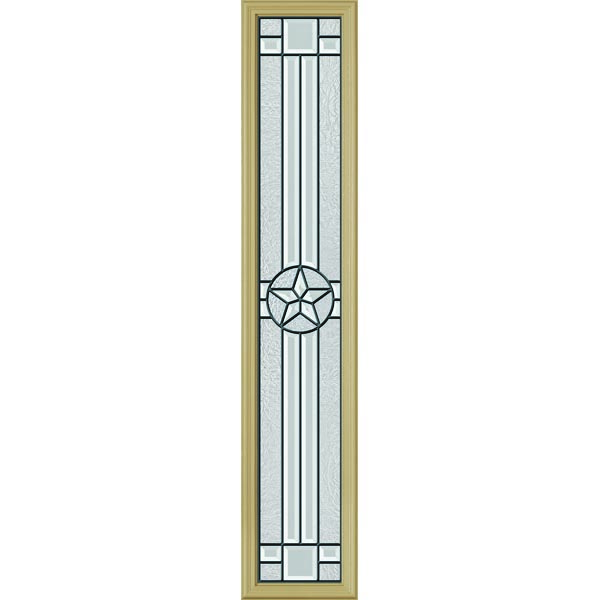 "ODL Elegant Star Door Glass - 10"" x 50"" Frame Kit"