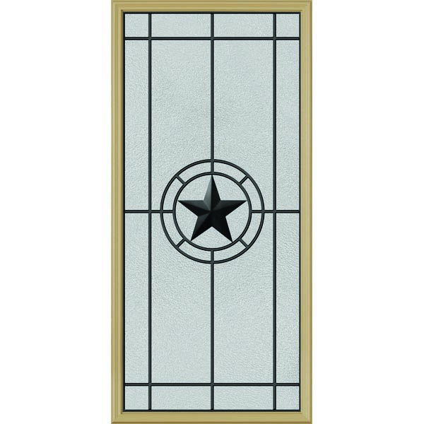 "ODL Elegant Star Door Glass - 24"" x 50"" Frame Kit"