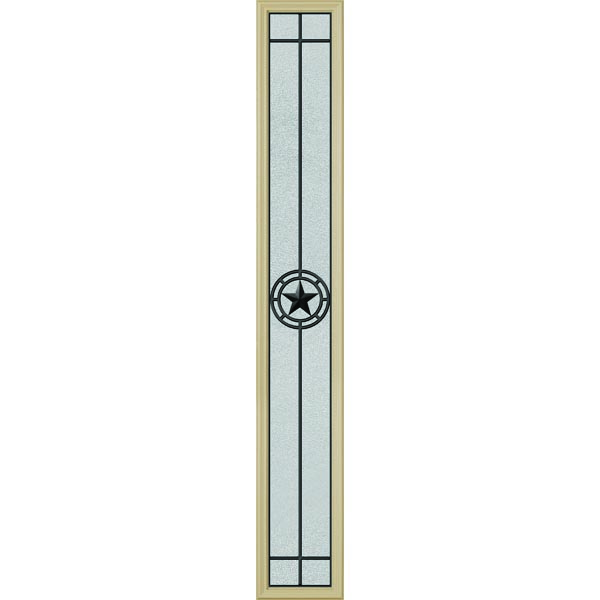 "ODL Elegant Star Door Glass - 10"" x 66"" Frame Kit"