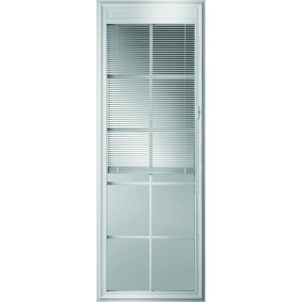 "ODL Enclosed Blinds - Low-E Glass - Triple Pane - 10 Light - Internal Grille - 24"" x 66"" Frame Kit"
