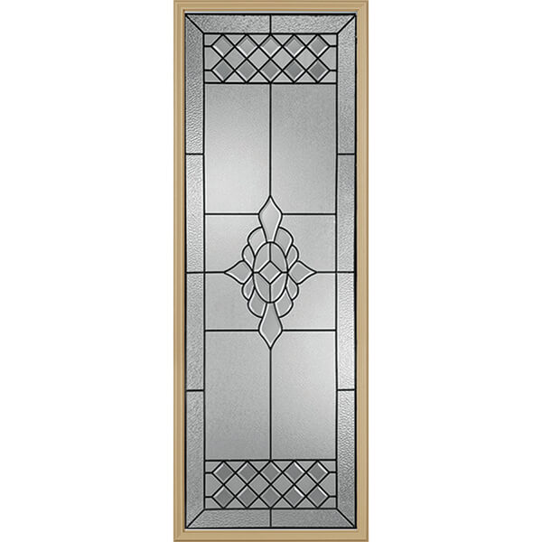 "Western Reflections Georgetown Door Glass - 24"" x 66"" Frame Kit"