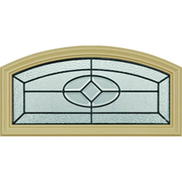 "Western Reflections Georgetown Door Glass - 24"" x 12"" Frame Kit"