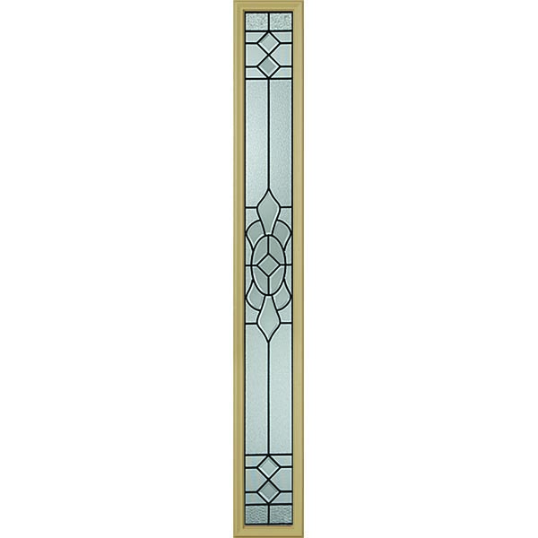 "Western Reflections Georgetown Door Glass - 9"" x 66"" Frame Kit"