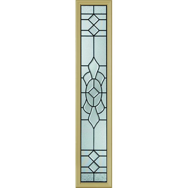 "Western Reflections Georgetown Door Glass - 10"" x 50"" Frame Kit"