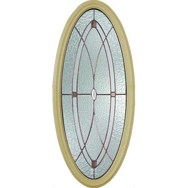 "Western Reflections Hutton Door Glass - 17.514"" x 41.389"" Frame Kit"
