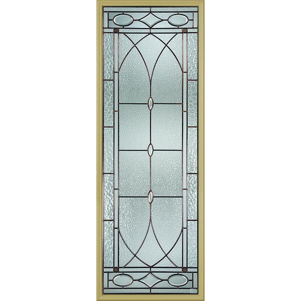 "Western Reflections Hutton Door Glass - 24"" x 66"" Frame Kit"