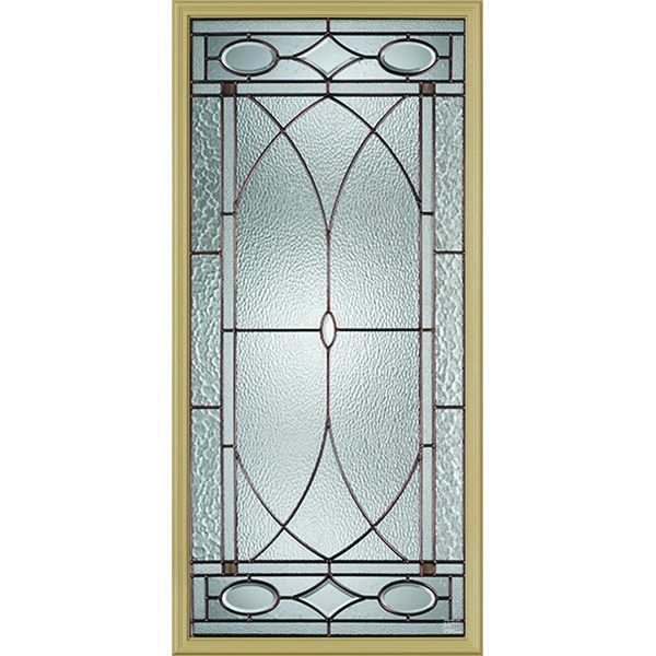 "Western Reflections Hutton Door Glass - 24"" x 50"" Frame Kit"