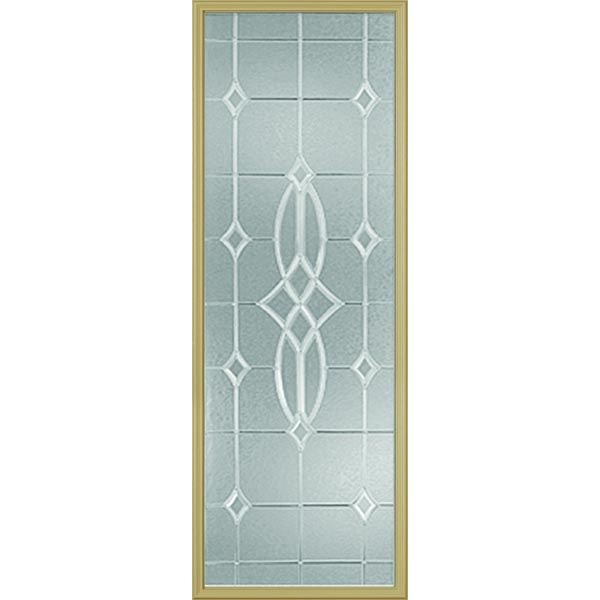 "Western Reflections Imperial Platinum Door Glass - 24"" x 66"" Frame Kit"
