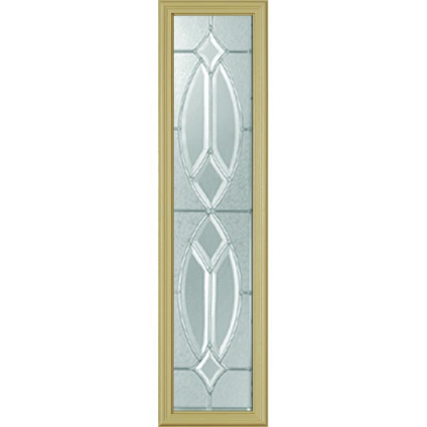 "Western Reflections Imperial Platinum Door Glass - 10"" x 38"" Frame Kit"