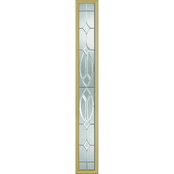 "Western Reflections Imperial Platinum Door Glass - 9"" x 66"" Frame Kit"