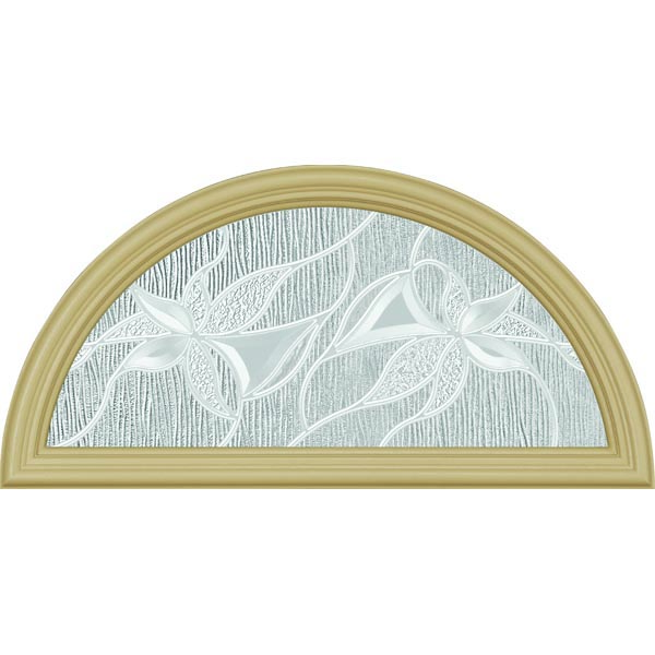 "ODL Impressions Door Glass - 23.797"" x 11.813"" Frame Kit"