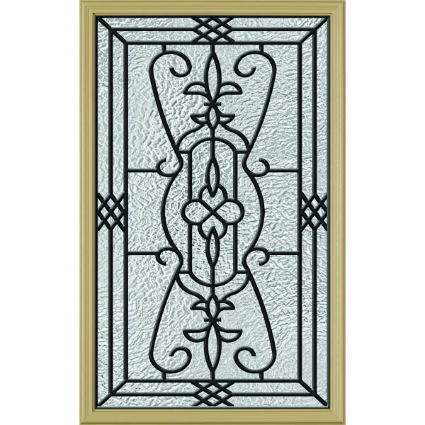 "ODL Jacinto Door Glass - 24"" x 38"" Frame Kit"