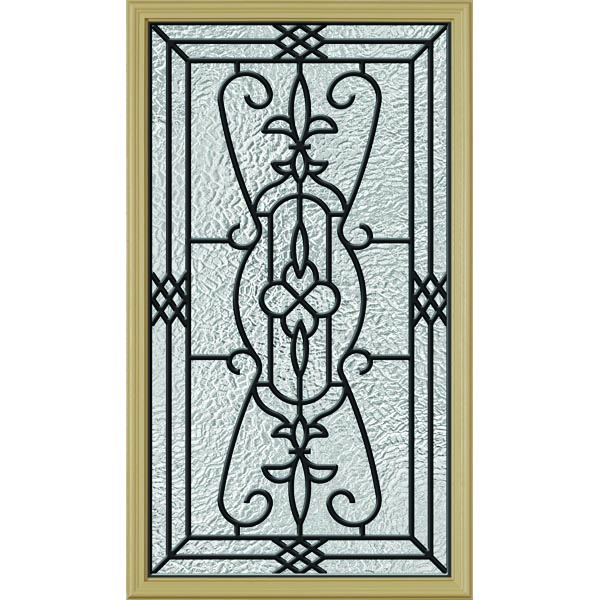 "ODL Jacinto Door Glass - 22"" x 38"" Frame Kit"